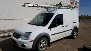 2010 Ford Transit Connect XLT - Ladder rack, shelves, wntr tires