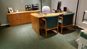 Office Desk and Cordenza