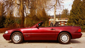 1996 Mercedes-Benz SL-Class Convertible Good on Gas Clean Title