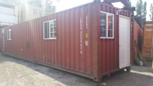 Mobile Shipping Container Office for RENT or SALE