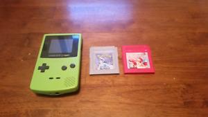 Game Boy & Pokèmon Red & Silver for sale