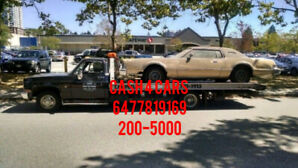 Cash 4 Scrap Cars Call/Txt 647-781-9169 (AutoWrecker, Junk Yard)