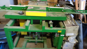 BRAND NEW notcher, resaw and chop saw( pallet making equipment)
