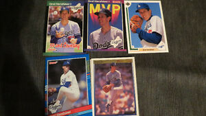 Orel Hershiser MLB cards