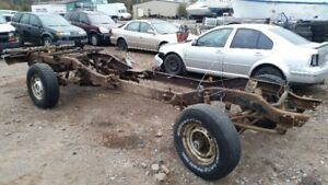 83 surburban rolling chassis