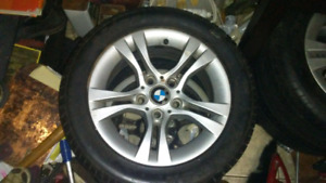 BMW 5 bolt(5×120)  16 Inch Rims And tires.