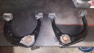 TOYOTA OEM suspension. upper arms, coil overs, rear springs2010+