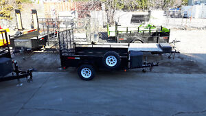 5 X 8 utility trailers in Stock NOW