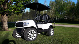 Voiturette de golf  club car style pick up