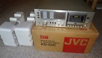 Vintage Late 1970's JVC Stereo Cassette Receiver! Mint with Box!