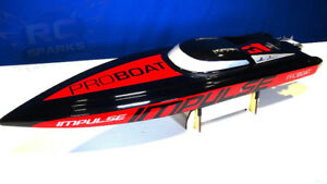 NEW RC Speed ProBoat Impulse 31 V Haul Brushles Great Fun Hobby