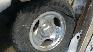 Ford Explorer rims and tires 16 inch