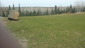 Executive semi-rural lot in S Neebing area 5 mins from Airport