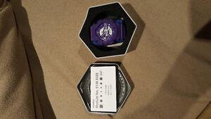 Purple G shock watch