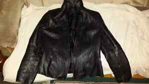 Women's Leather Coat.  Size Medium. Exc Cond.  $30/obo.