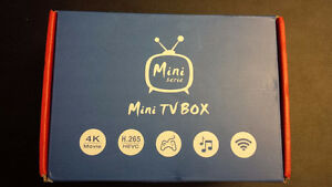 Mini M8S box tv android 4K - Kodi (ex xbmc)