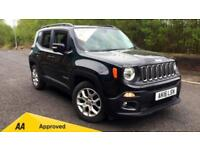 2016 Jeep Renegade 1.6 Multijet Longitude 5dr Manual Diesel Hatchback