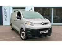 2017 Citroen Dispatch 1.6 BlueHDi 1000 Enterprise XL LWB EU6 6dr Panel Van Diese