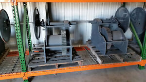 BARGE WINCHES FOR SALE 40 TON NABRICO TYPE