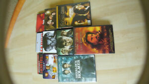 10 DVD's, Harry Potter, star trek, new moon and more.