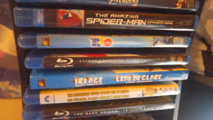 Selling lots of Blu-rays