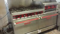 Commercial stove/ovens grill