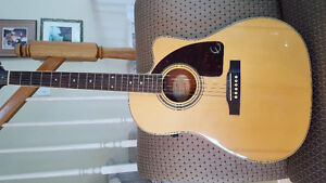 Epiphine acoustic guitar