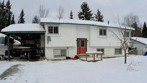 Nicely updated home in Quesnel