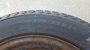 winter tires and rims Michelin XICE 205/55 R 16