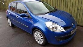 Renault Clio 1.2 Dynamique S. FSH. WARRANTY. HALF LEATHER. AC. ALLOYS.