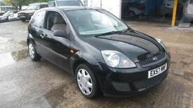 Ford Fiesta 1.4TDCi 57 plate, Style Climate, black
