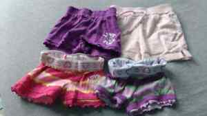 8 pairs size 6-12 month shorts