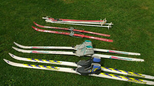 skis boots and poll's