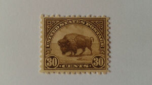 "US #700 Unused 1931 ""BUFFALO ON THE PLAIN"" 30 cent stamp MNT/ VF London Ontario image 1"