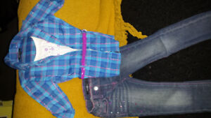 Size 4 girls outfit. Very sparkly