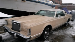 1978 Lincoln Continental Mk V Cartier Edition