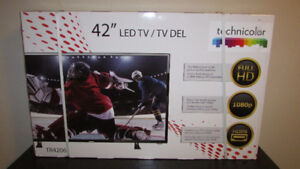 New-in-box, 42-inch LED Television, with warranty !!!!