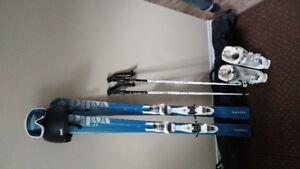 Ensemble de ski alpin pour femme.