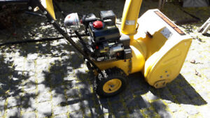 Rato 6.5Kw  snow blower   only 2 years old
