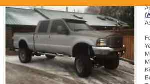 Need fender flares and tires and rims for 01 f250