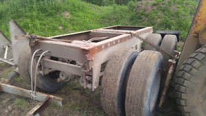 48 foot trailer rear tire assembly x3