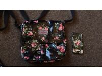 Cath Kidston bag and iphone5 casw