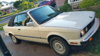 BMW E30 Convertible (325i) AMAZING CONDITION!!!