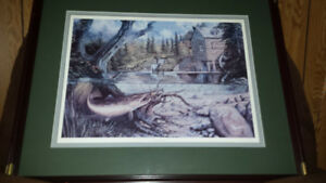 "Framed Numbered Print of ""Williams Mill"" by Barrie Pearson"