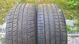 Tyres 235/40/19
