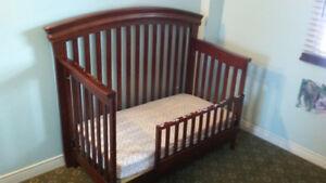 Shermag Tuscany 4-in-1 Convertible Crib
