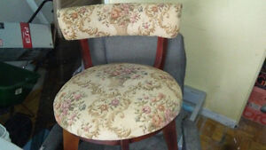 Antique Vintage Chair that Turns Left to Right as you sit on it