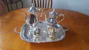 Silver Tea/Coffee Service