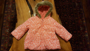 winter jacket for baby girl 6-9 months