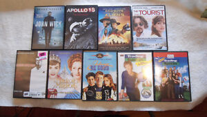 Multiple DVD's see list below 5 for all or 1 each